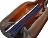 Navy Blue Tear Tape Ribbon Strips - pack of 100