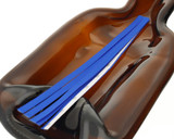 Electric Blue Tear Tape Ribbon Strips - pack of 100