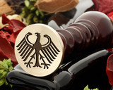 Crest Eagle 14 Wax Seal