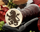 Crest Lion 19 Wax Seal