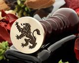 Crest Lion 21 Wax Seal