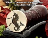 Heraldry Sea Unicorn D2 Wax Seal