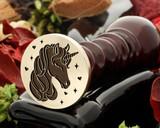 Wedding Unicorn Wax Seal