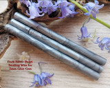 Dark Silver sealing wax for 7mm glue gun