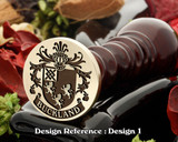 Buckland Family Crest Wax Seal D1