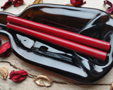 Traditional Red Plain LARGE 11mm Glue Gun Sealing Wax made in Shropshire