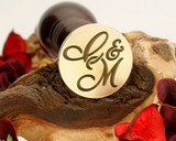 "Initials ""C&M"" Sale Monogram Wax Seal"