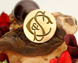 "Initials ""C&S S&C"" Sale Monogram Wax Seal"