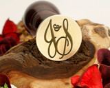 "Initials ""J&S"" Sale Monogram Wax Seal"