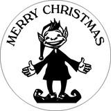 Merry Christmas Elf Wax Seal