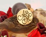 "Initials ""A&M"" Sale Monogram Wax Seal"