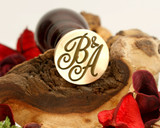 "Initials ""B&A"" Sale Monogram Wax Seal"