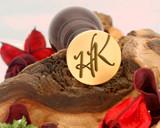 "Initials ""HK"" Sale Monogram Wax Seal"