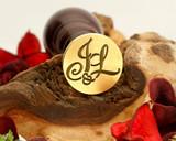 """Initials """"J&L"""" Sale Monogram Wax Seal"""