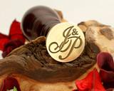 "Initials ""J&P"" Sale Monogram Wax Seal"