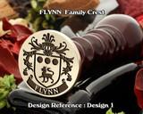 Flynn Family Crest Wax Seal D1