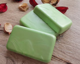 Lime Green Bottle wax Pearl - also available in plain finish