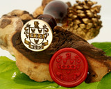 Drum Family Crest Wax Seal 25mm