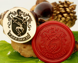 Hennessey Family Crest Wax Seal 40mm