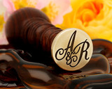 "Monogram ""A&R"" Initials 25mm"
