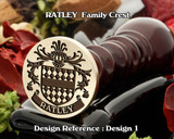 RATLEY Family Crest Wax Seal D1