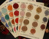 Sealing Wax Colour Chart