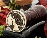 Art Deco D14 wax seal