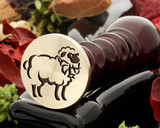 Sheep 3 Wax Seal