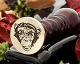 Chimp 1 Wax Seal
