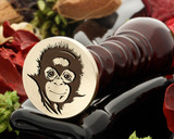 Chimp 3 Wax Seal