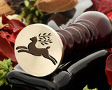 Deer 3 Wax Seal