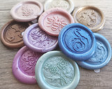Peel and Stick Wax Seals Samples Service