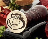 Cheeky Monkey Wax Seal