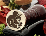 Squirrel 1 Wax Seal