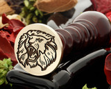 Lion 9 wax seal