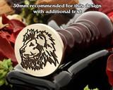 Lion D12 Wax Seal