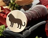 Lion 1 wax seal