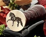 Horse 6 Wax Seal
