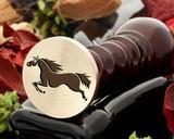 Horse 9 wax seal