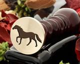 Horse 14 wax seal