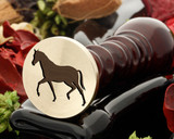 Horse 16 wax seal