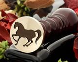 Horse 17 Wax Seal