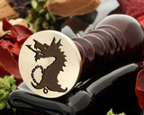 Dragon D6 Wax Seal Stamp
