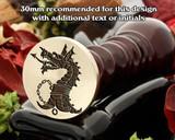 Dragon D7 Wax Seal Stamp