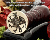 Dragon D10 Wax Seal Stamp