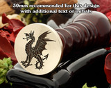 Dragon D14 Wax Seal Stamp