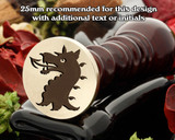 Dragon D19 Wax Seal Stamp