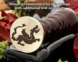Dragon D20 Wax Seal