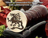 Dragon D21 Wax Seal Stamp