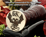 Dragon D23 Wax Seal (initial extra cost)
